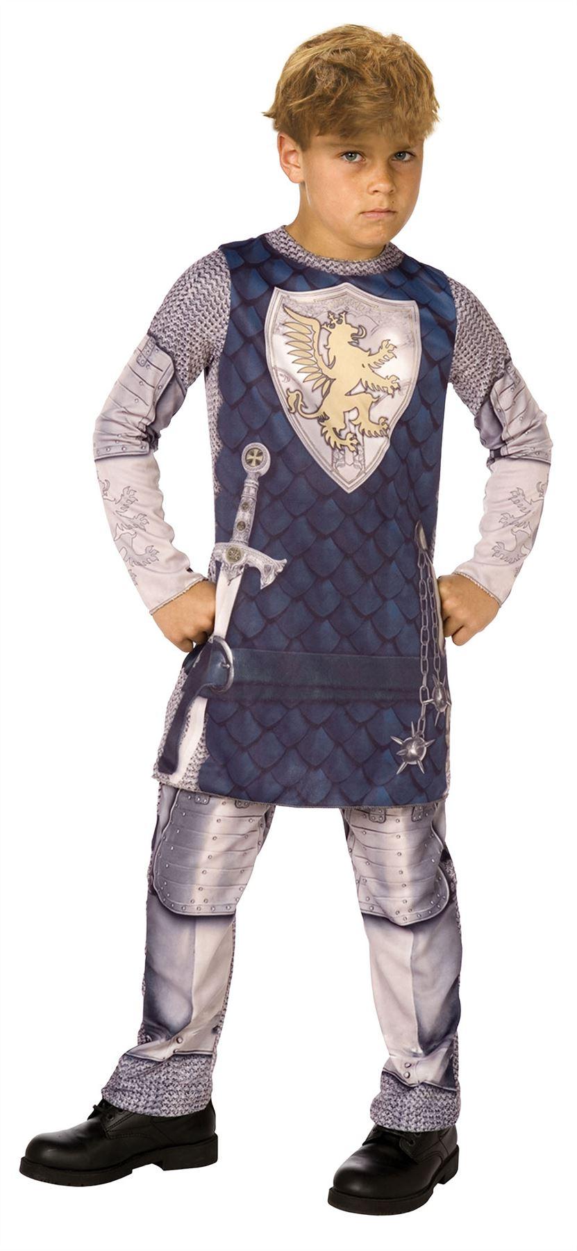 Boys Kids Medieval Tudor King 3d Knight Fancy Dress Up  sc 1 st  Meningrey & Knights Dressing Up Costume - Meningrey