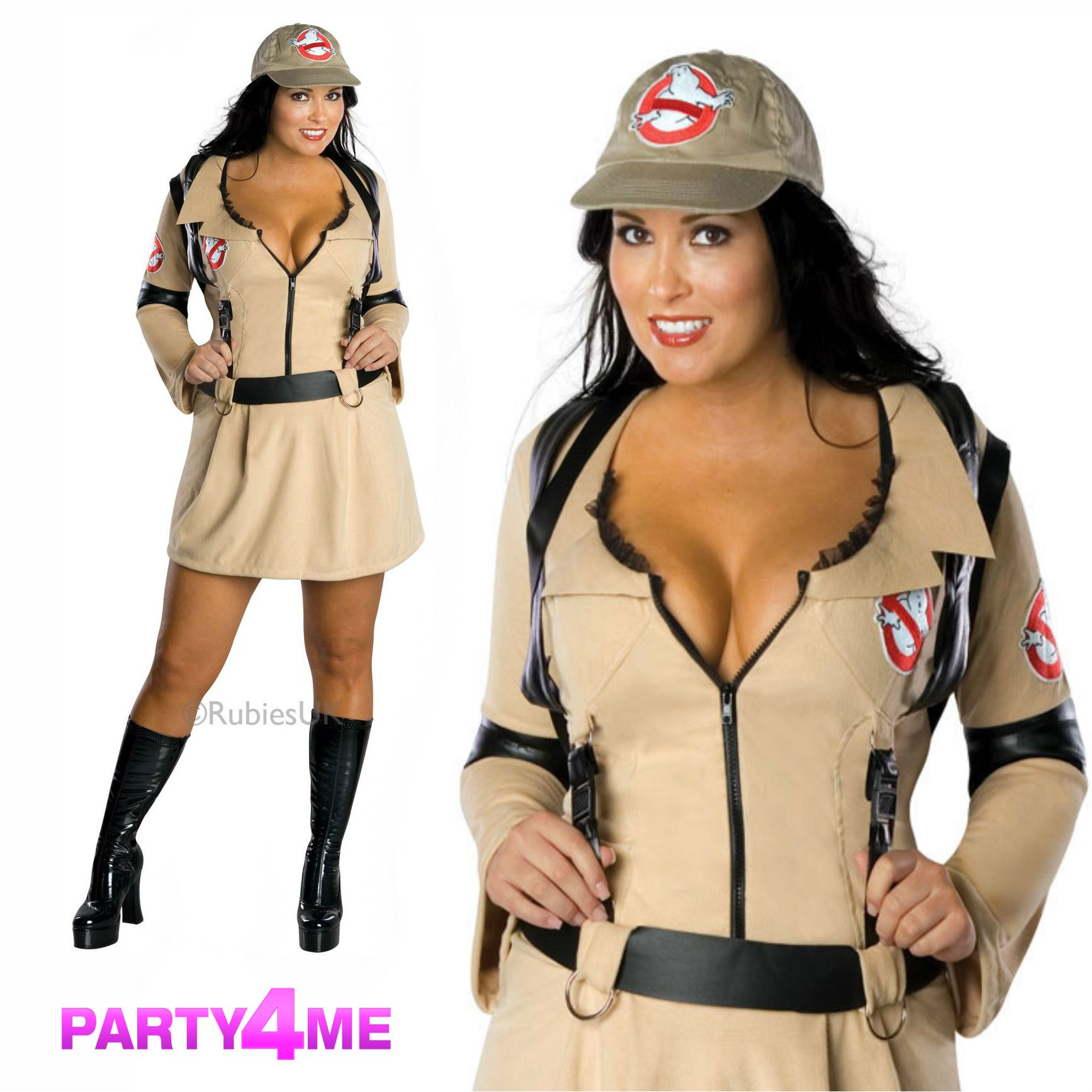 Sexy ghostbuster costumes nude image