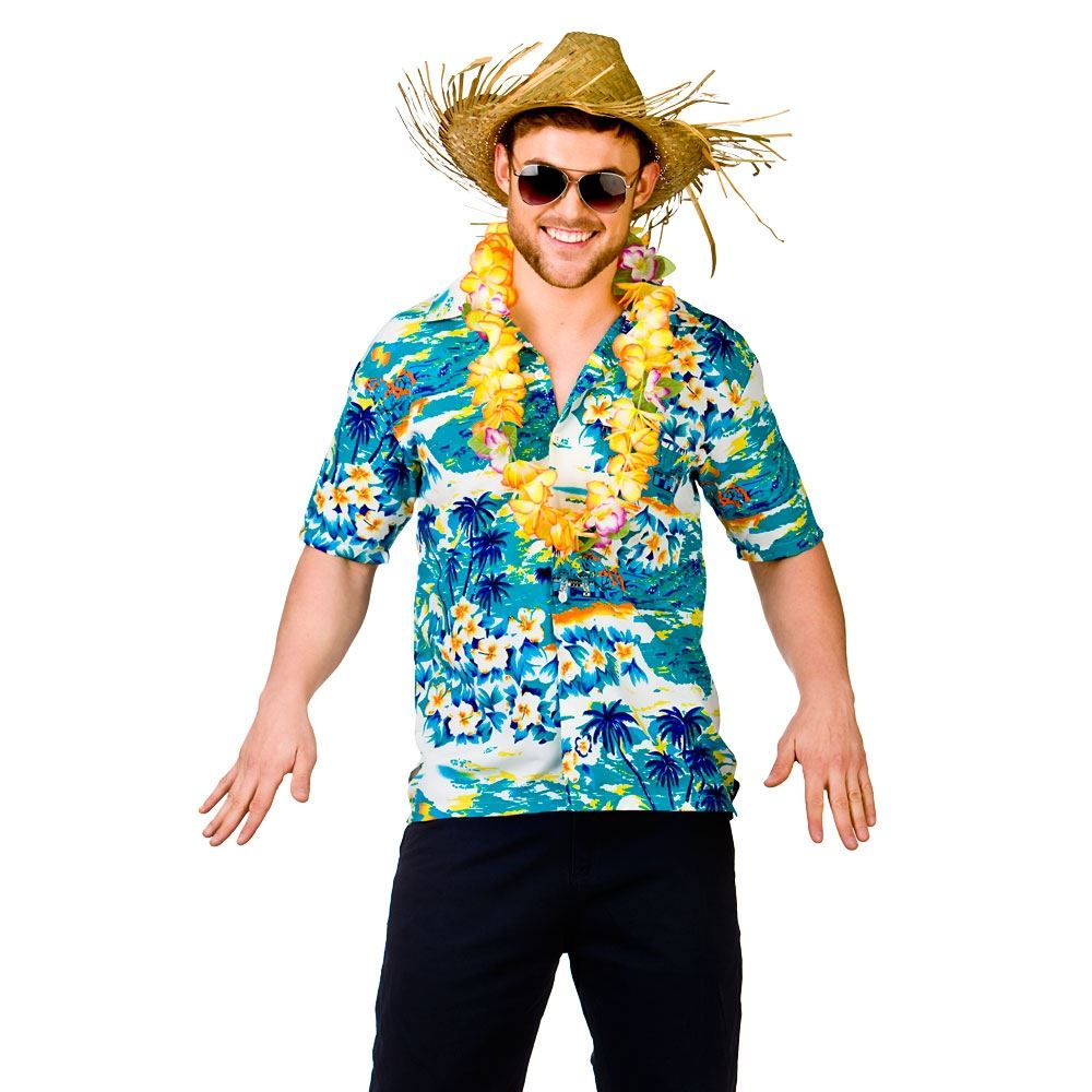 MENS-HAWAIIAN-SHIRT-STAG-RETRO-BEACH-LUAU-TROPICAL-ALOHA-FANCY-DRESS-COSTUME-TOP