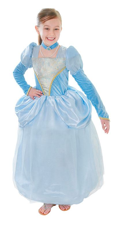 GIRLS-KIDS-BLUE-CINDERELLA-PRINCESS-FANCY-DRESS-COSTUME-FAIRYTALE-STORYBOOK