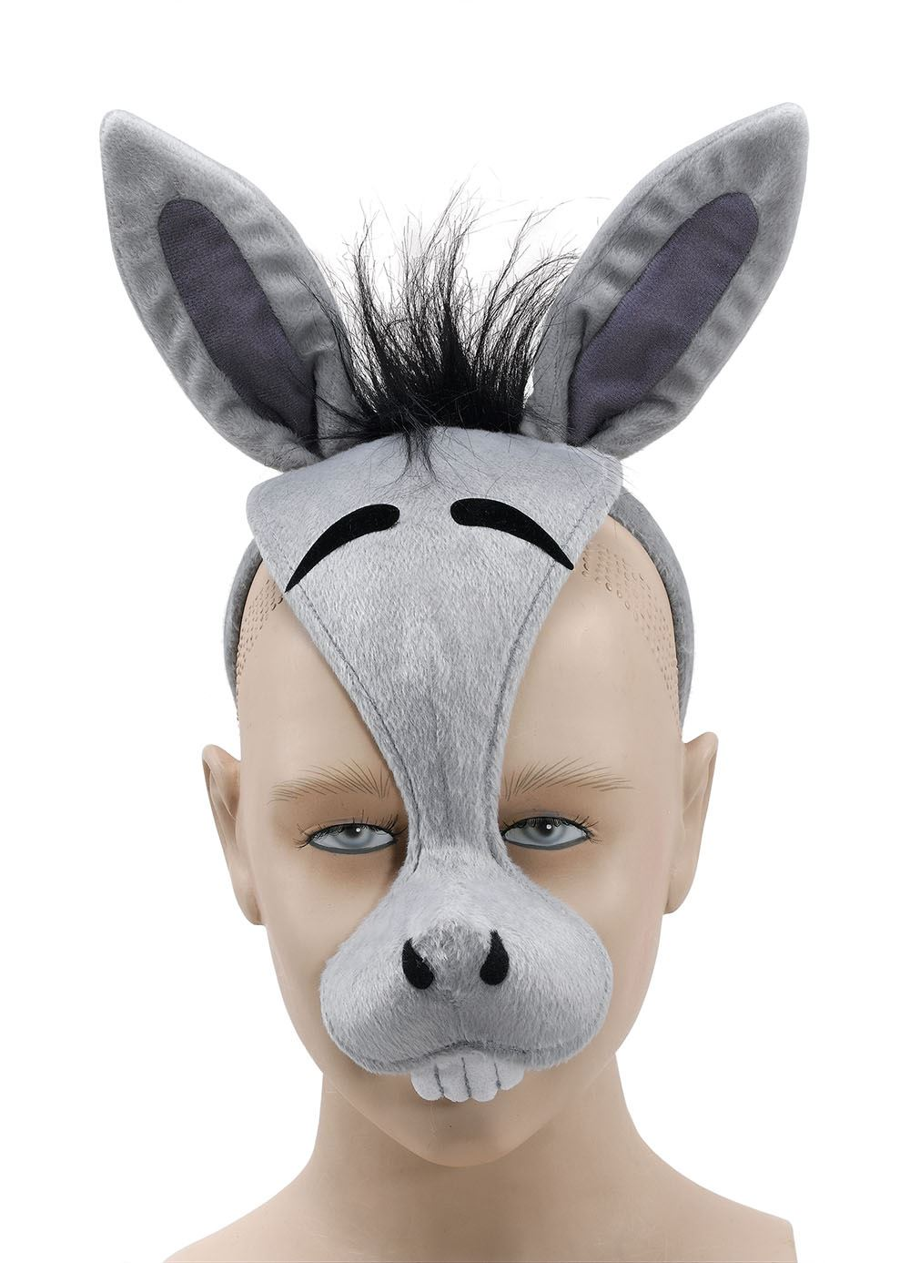 donkey face mask template - talking farm animal mask sound nativity play book day