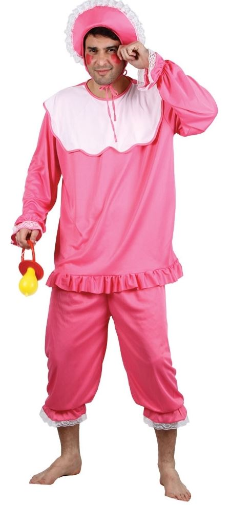 Mens-Ladies-Adult-BIG-BABY-Fancy-Dress-Romper-Babygrow-Costume-Stag-Hen-Outfit
