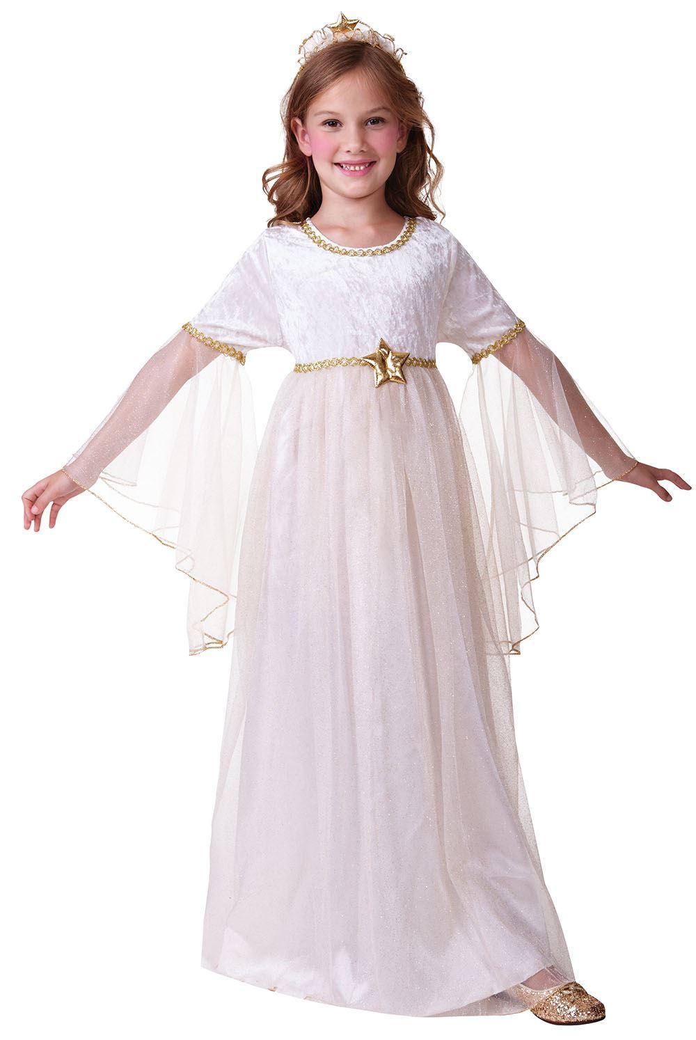 Hijo de 3 10 a os marfil vestido elegante traje de ropa for Disfraces de angeles