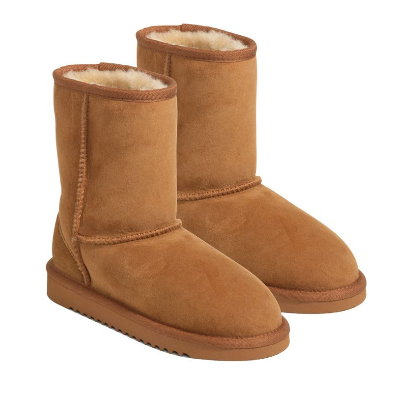 Kirkland Australian Sheepskin Kids/Girls Shearling Boots/Shoes ...