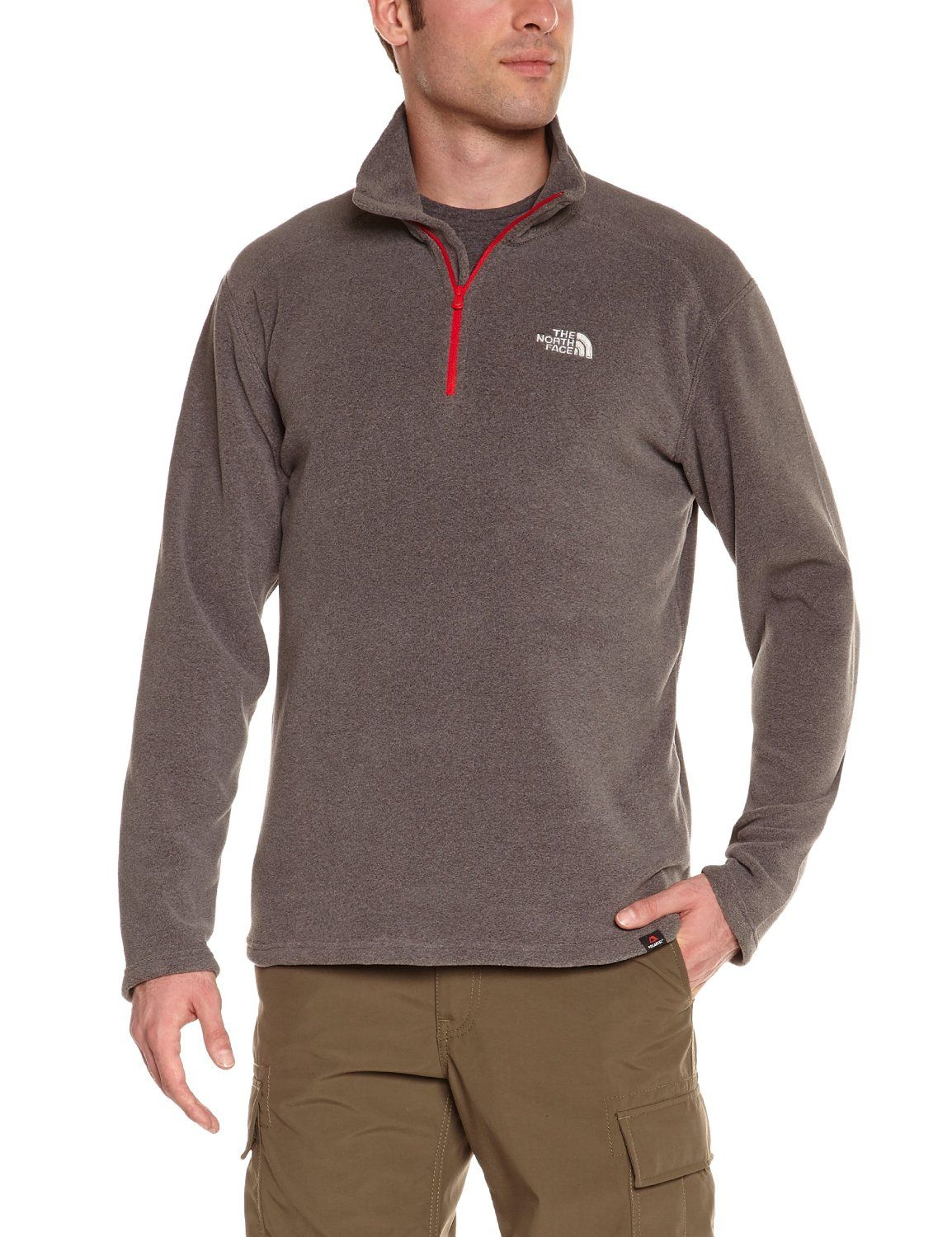 The-North-Face-Mens-100-Glacier-1-4-Zip-Pullover-Lightweight-Fleece