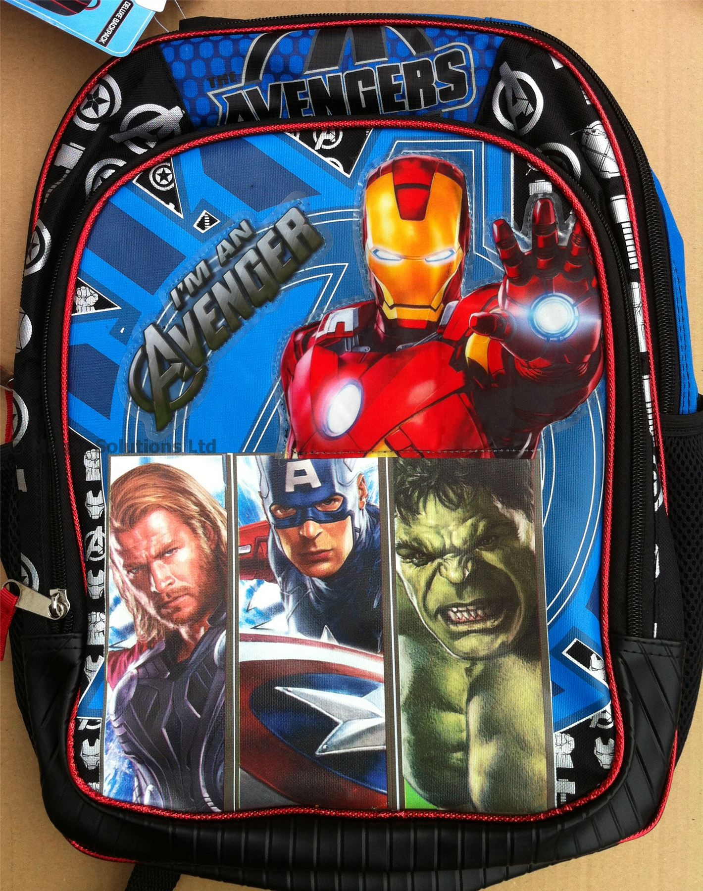 Top Quality Kids/Boys/Girls Character Backpacks-School/Overnight ...
