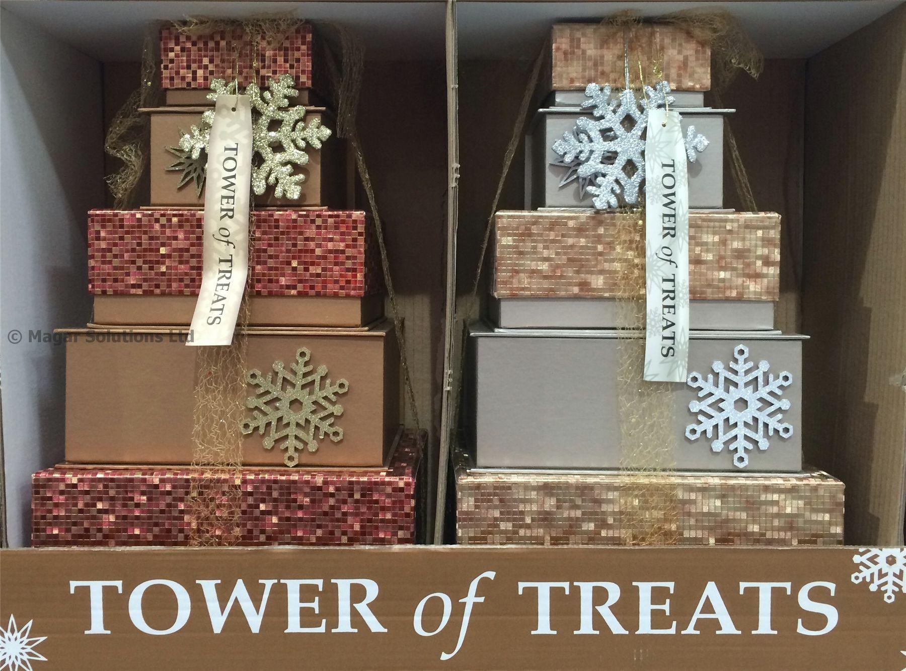 Luxury Xmas Gifts: Luxury Christmas Gift Tower Of Treats