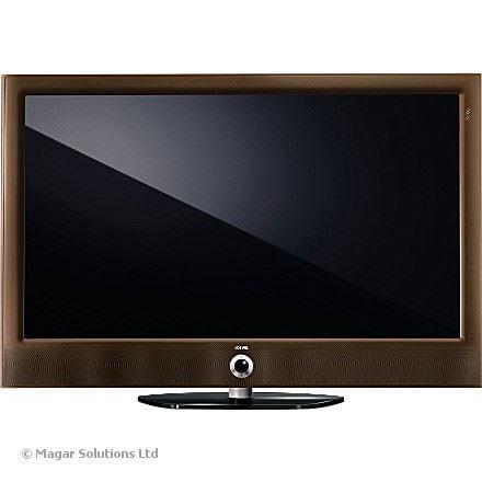 loewe led art mocha 46 200hz tv rrp 2395 model 50416 0 60 1080p hd. Black Bedroom Furniture Sets. Home Design Ideas