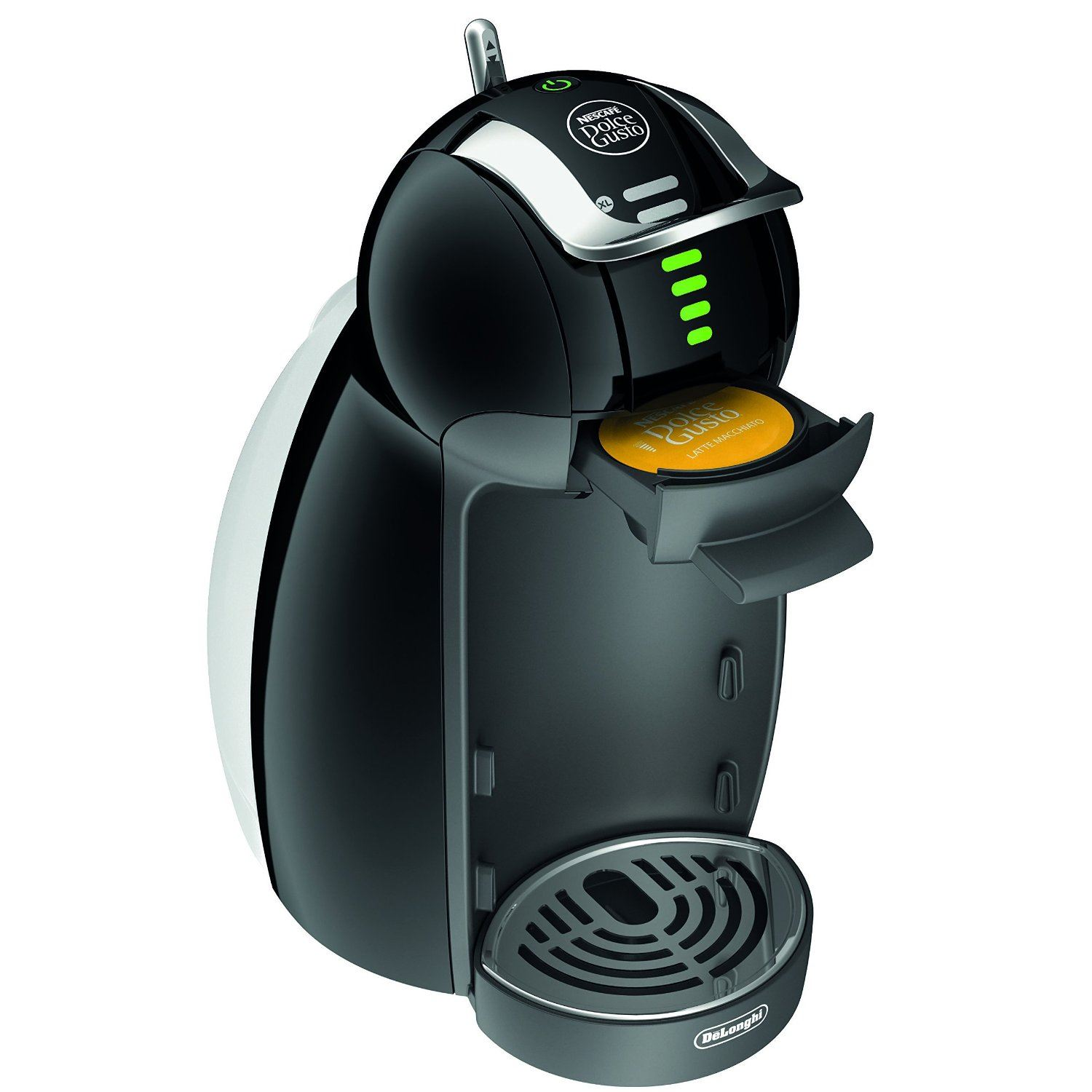 delonghi nescaf dolce gusto genio 2 edg465 b black pod. Black Bedroom Furniture Sets. Home Design Ideas