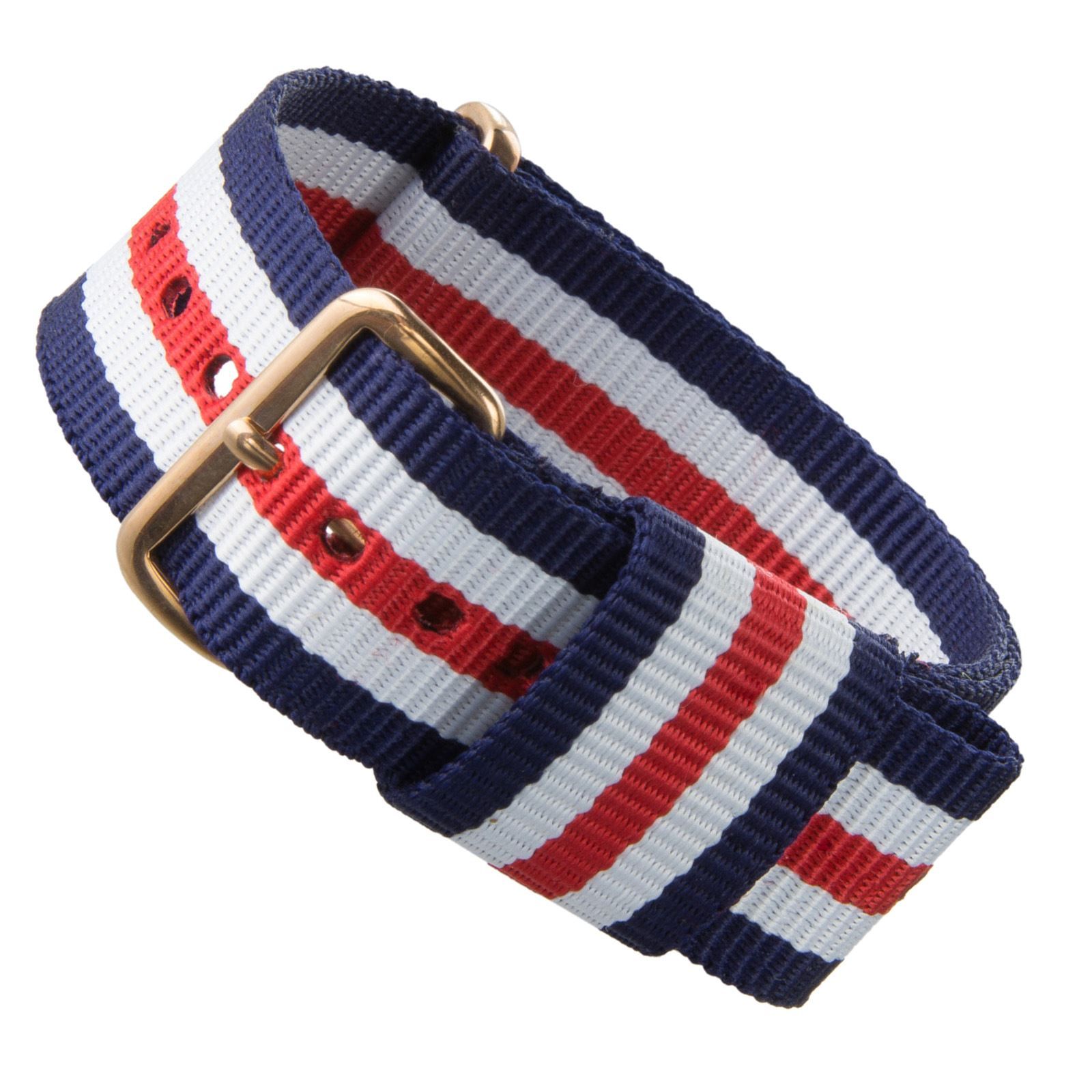 One Piece Replacement Nylon Watch Strap for Men's Daniel Wellington Watch 20mm