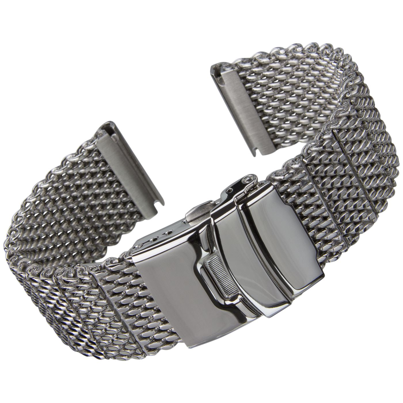 Wire Bands: Geckota® High Quality Thick Stainless Steel Milanese Mesh