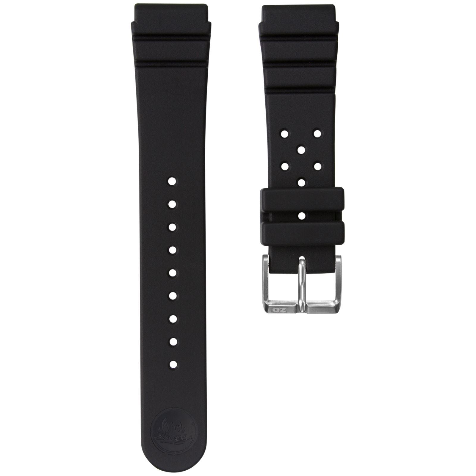 ZULUDIVER Bonetto Cinturini Dive Rubber Watch Strap 270 281 284 317 321 322