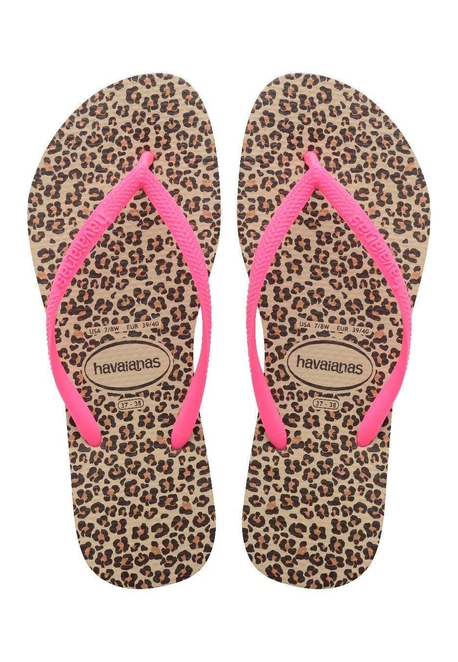 animal flip flops