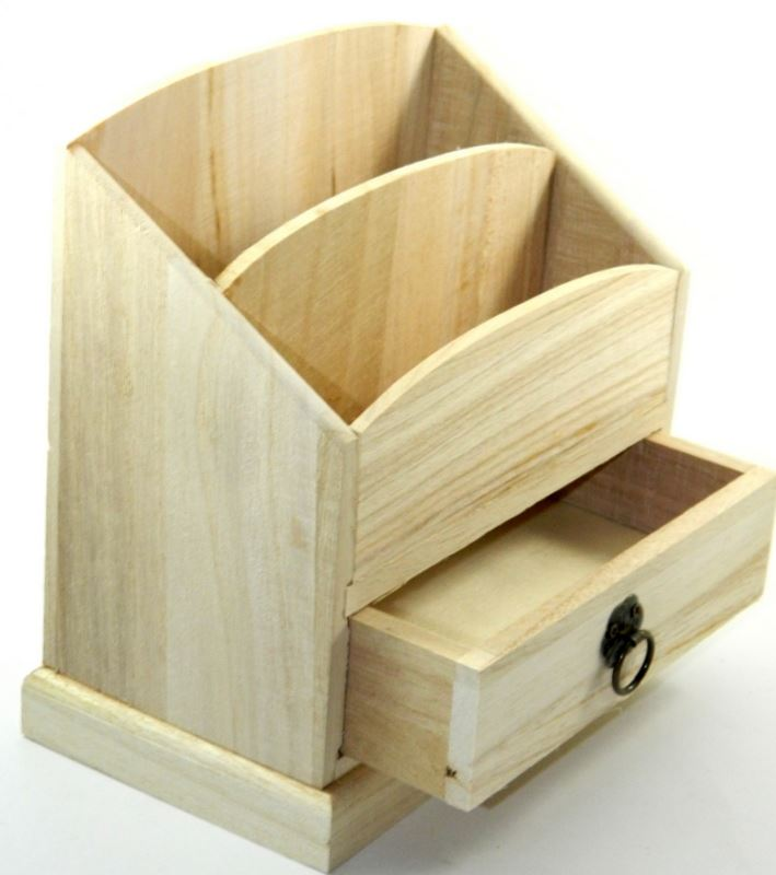 Design your own wood diy unfinished drawer box desk - Wood desk organizer with drawers ...