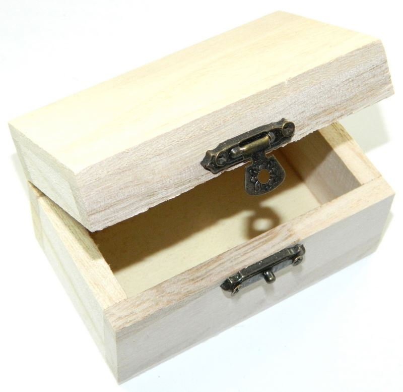 X12 set design your own wood mini box chest diy unfinished for Design your own wooden ring