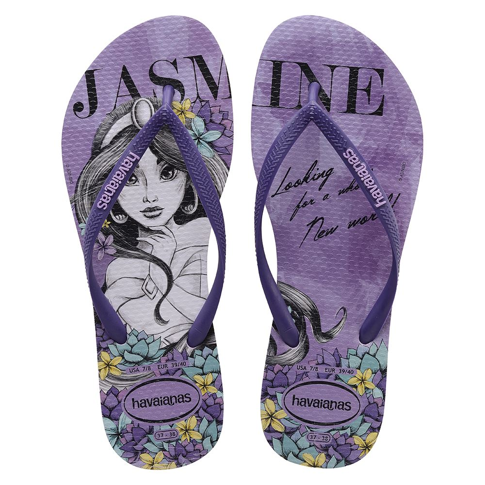 New-Havaianas-2017-Women-039-s-Slim-Princesas-Disney-Vary-Colors-and-All-Sizes