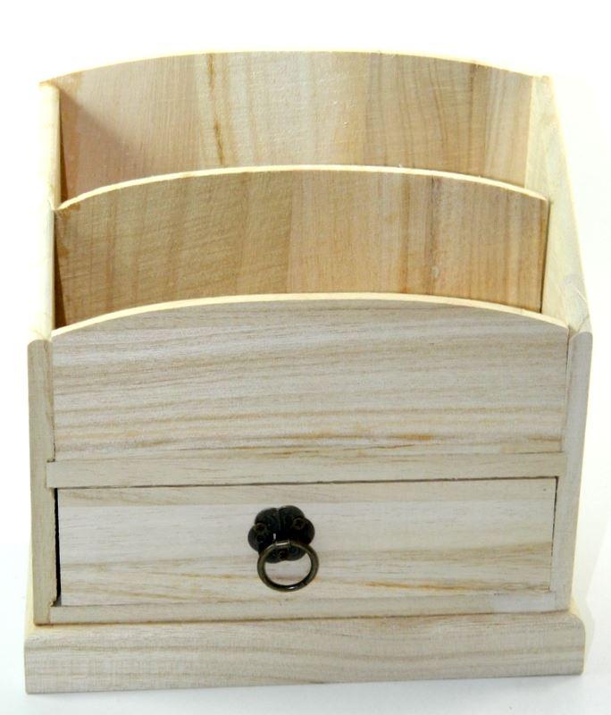 Design your own wood diy unfinished drawer box desk - Make your own desk organizer ...
