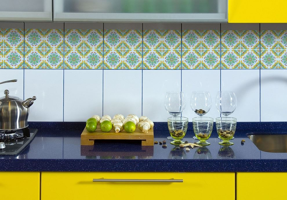 Ceramic tile stickers kitchen