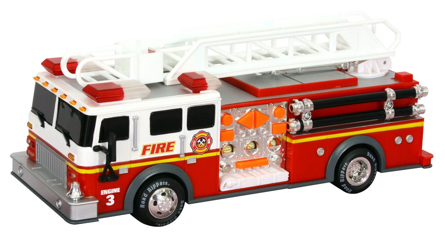 14 Quot Road Rippers Rush And Rescue Fire Engine Truck Sound