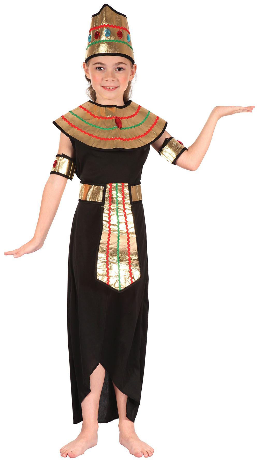 Beautiful Egyptian Cleopatra Ladies Fancy Dress Egypt Book Day Week Womens