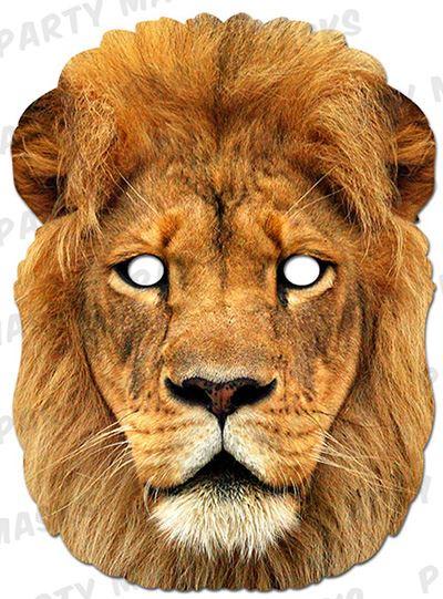 Как сделать лицо льва