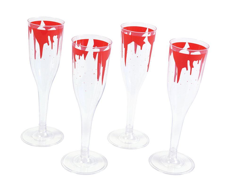 Halloween wine glass gothic goblet fancy dress novelty party ware glasses ebay - Plastic medieval goblets ...