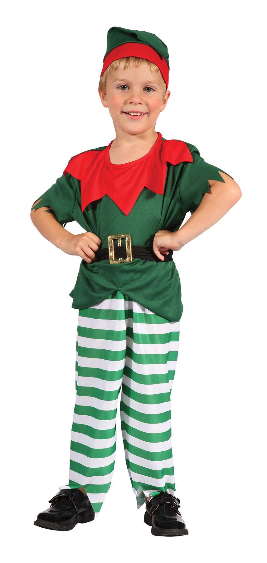Elf costume toddler childrens christmas fancy dress age 2 3 au ebay