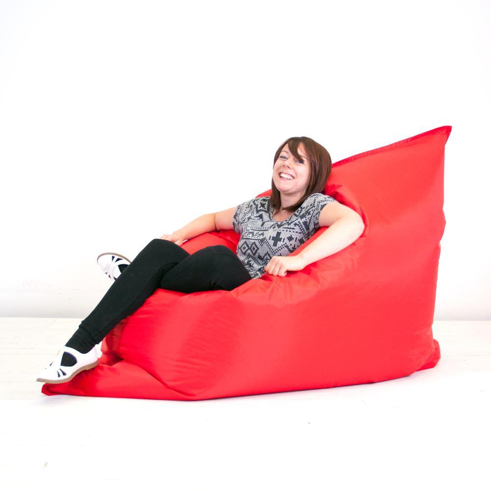 Giant Outdoor Indoor Filled Beanbag Seat Chair Floor
