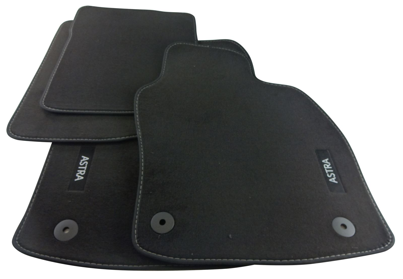 genuine vauxhall astra h car floor mats velour front. Black Bedroom Furniture Sets. Home Design Ideas