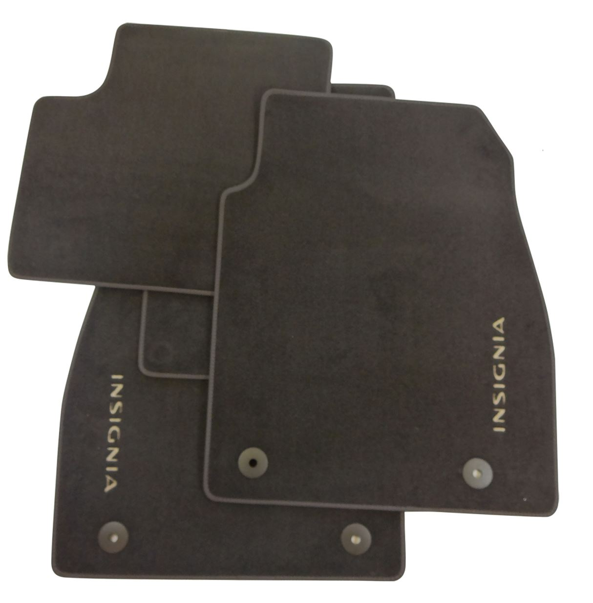 vauxhall genuine insignia car floor foot mats brown velour. Black Bedroom Furniture Sets. Home Design Ideas
