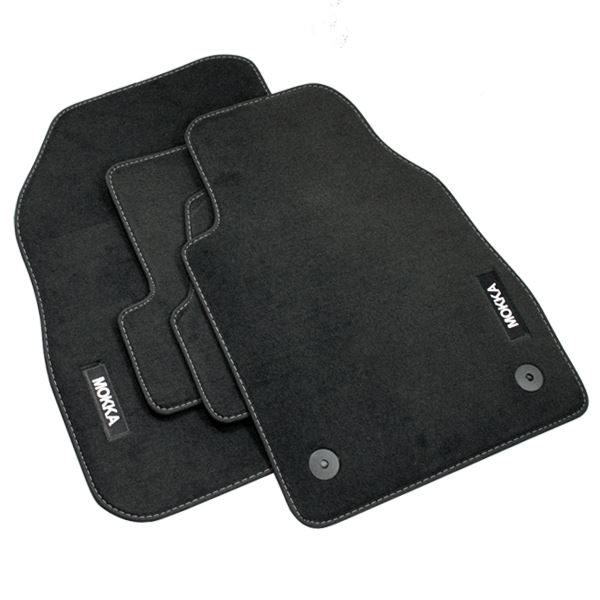genuine vauxhall mokka car floor mats velour carpet. Black Bedroom Furniture Sets. Home Design Ideas