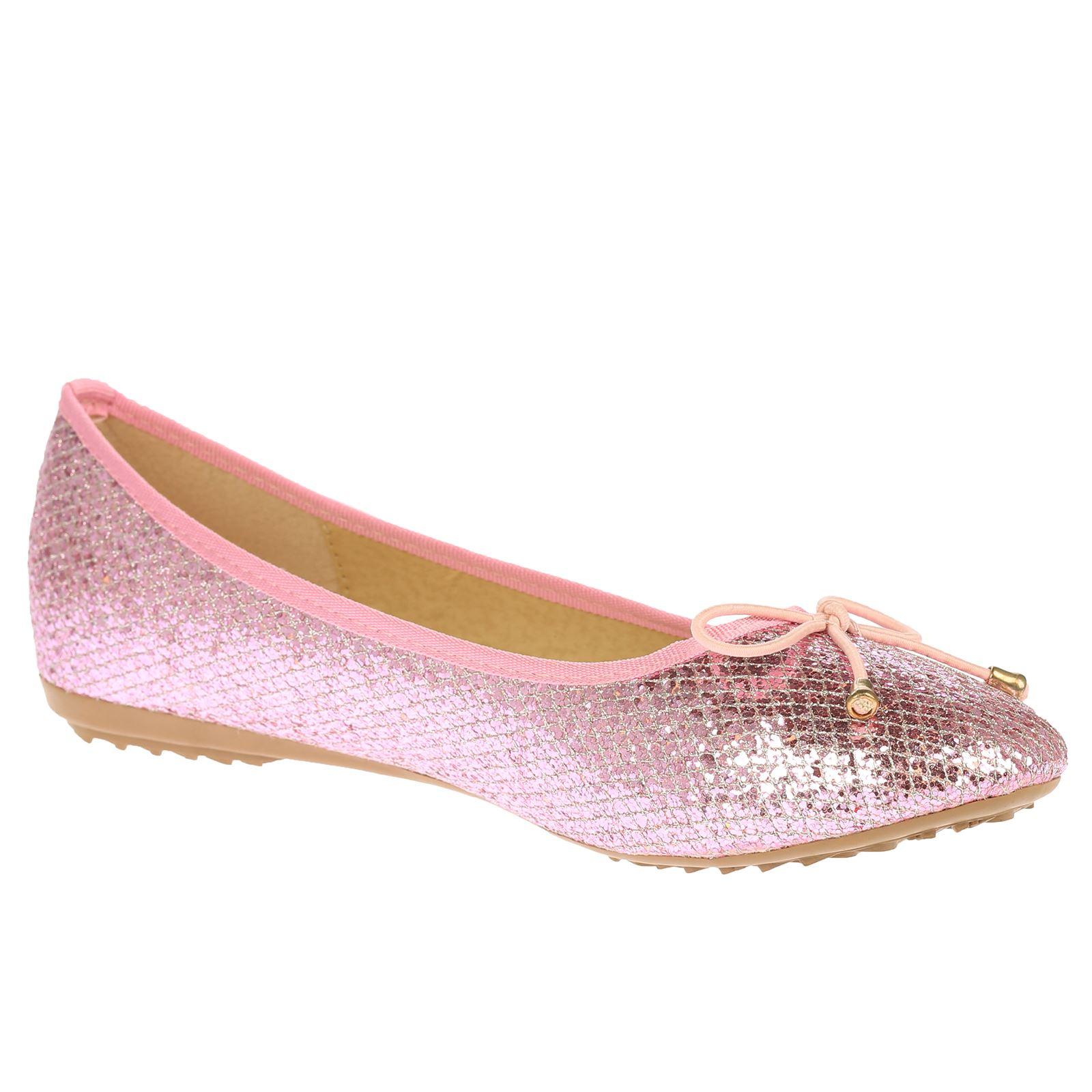 womens shoes pumps glitter evening ballet flats