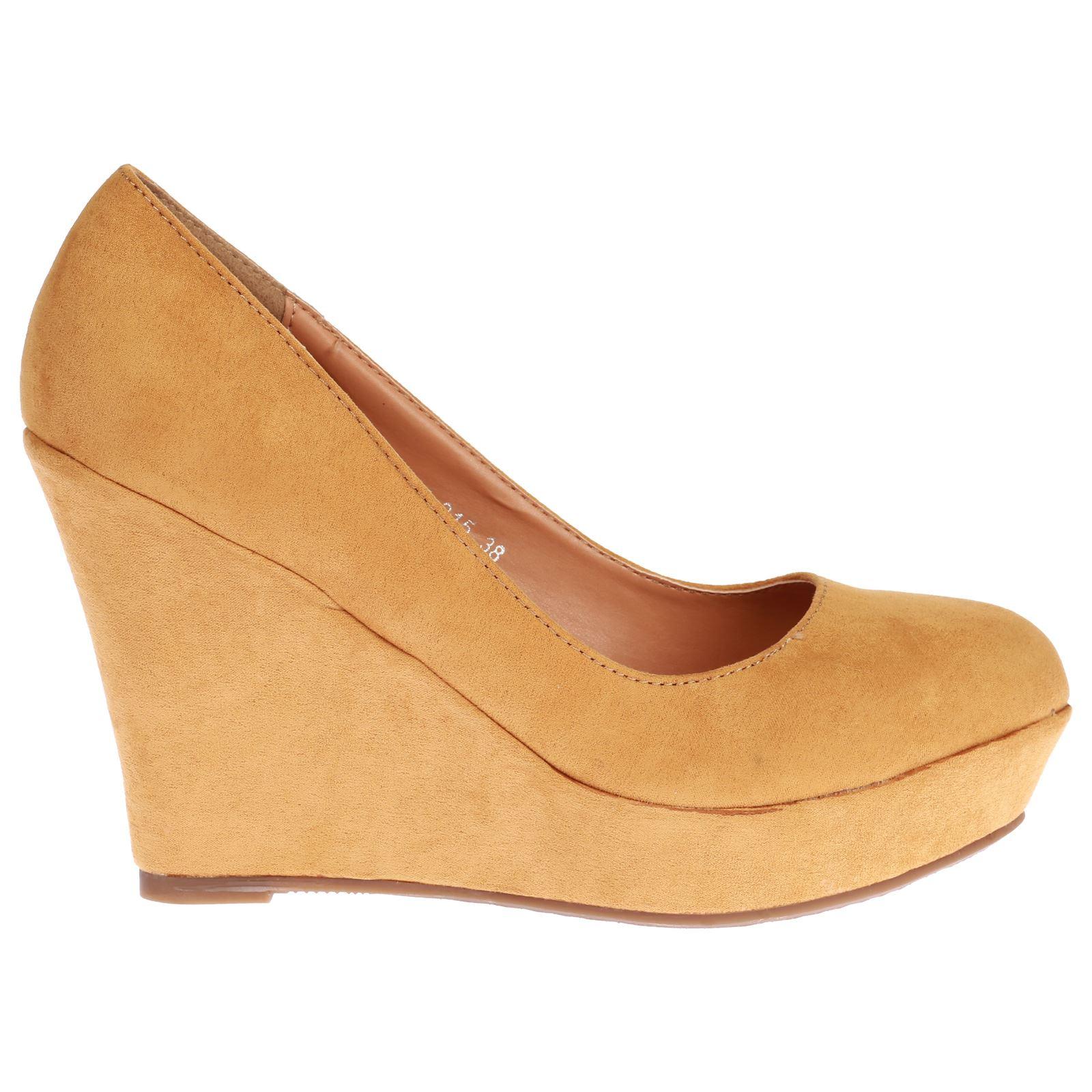 womens shoes high heels wedges court smart