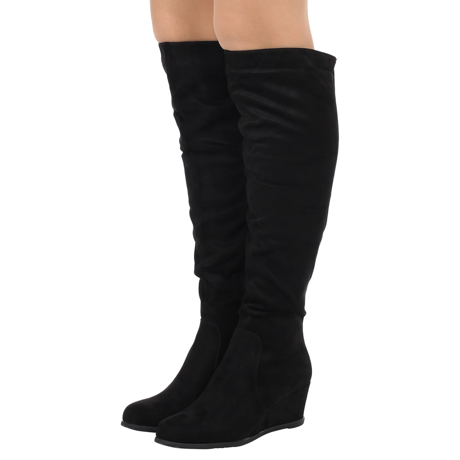 Amazing Aliexpresscom  Buy Casual Autumn Knee High Women Boots Shoes Woman