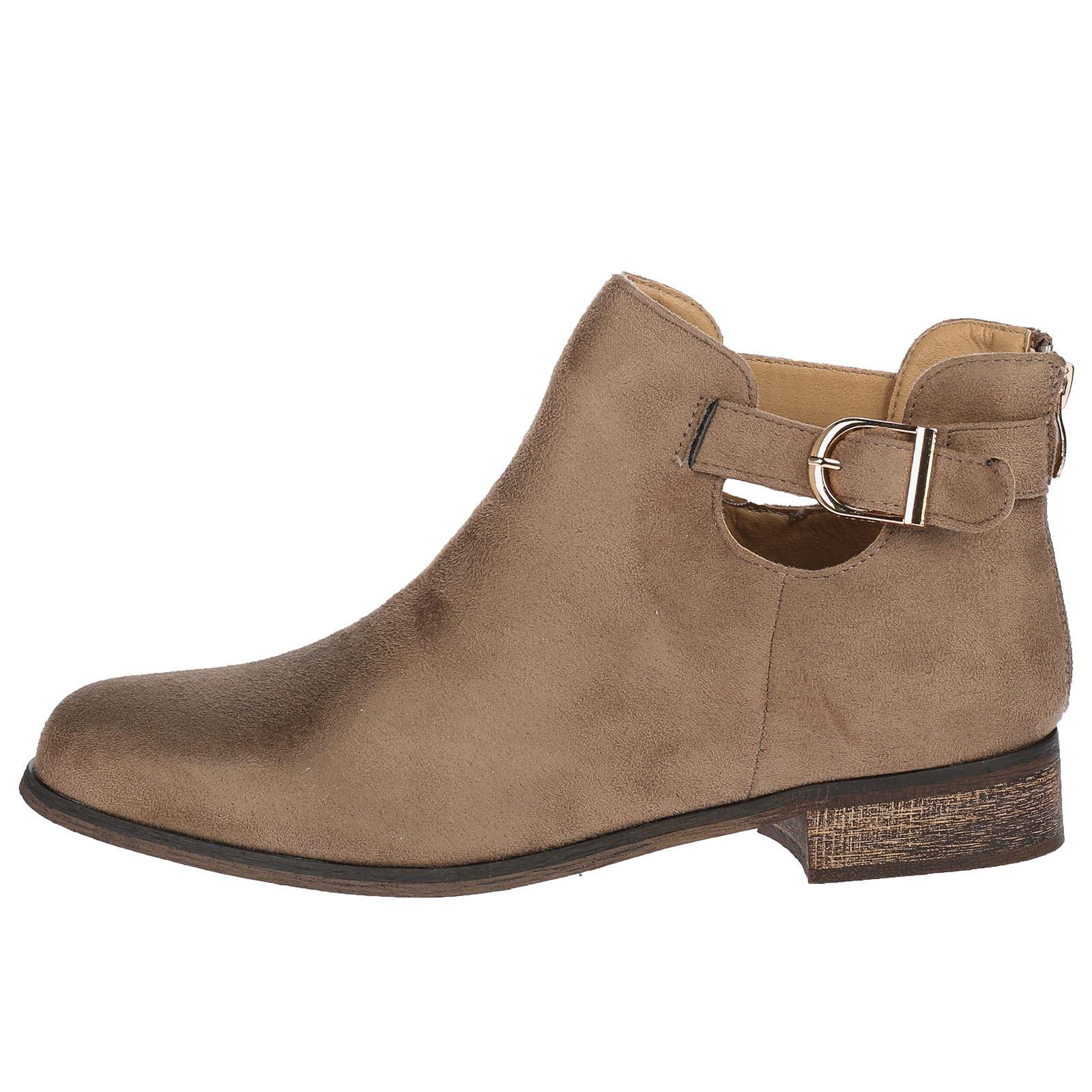 Womens Flat Heels Slip On No Shoe Lace