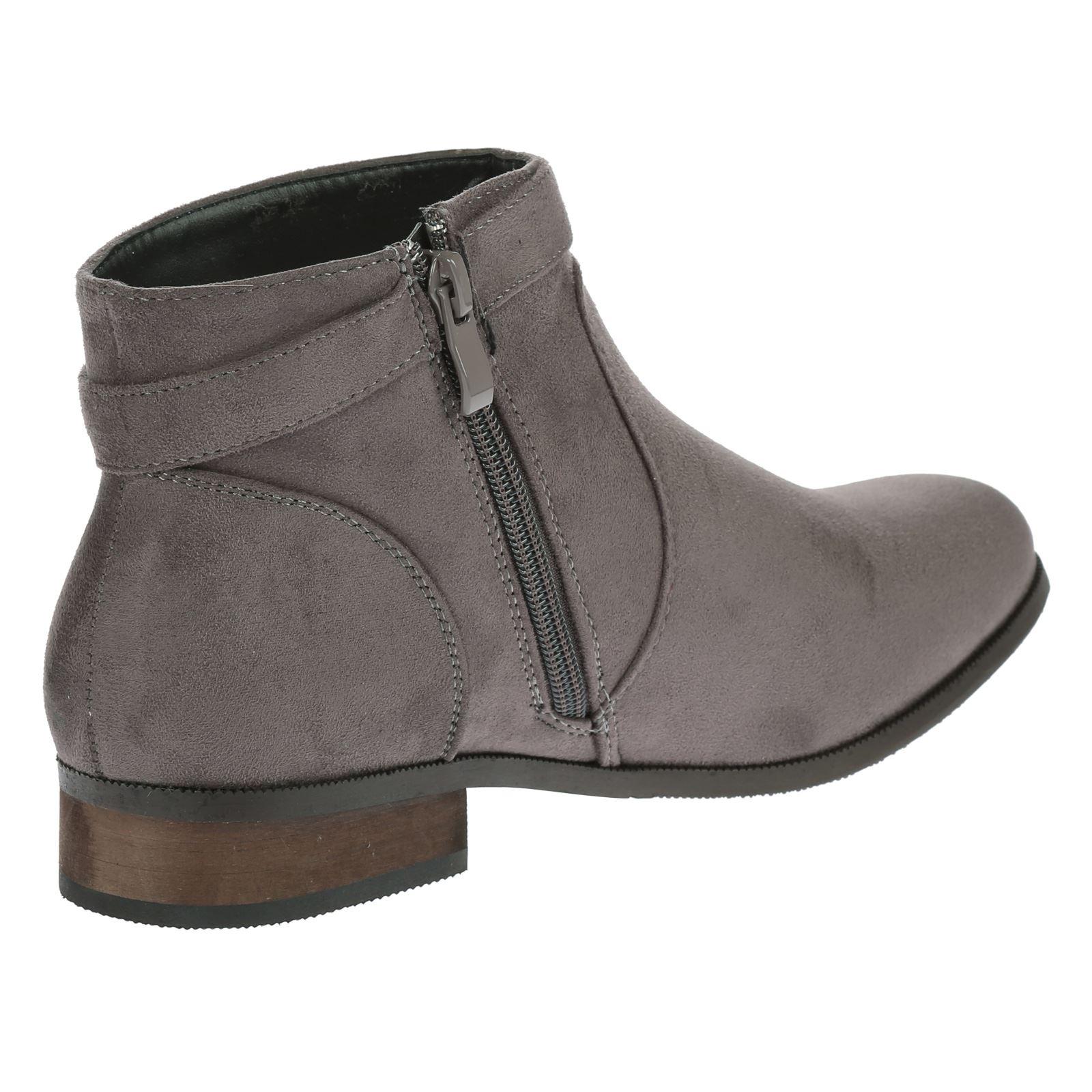 womens boots ankle tassel low heel flat casual work