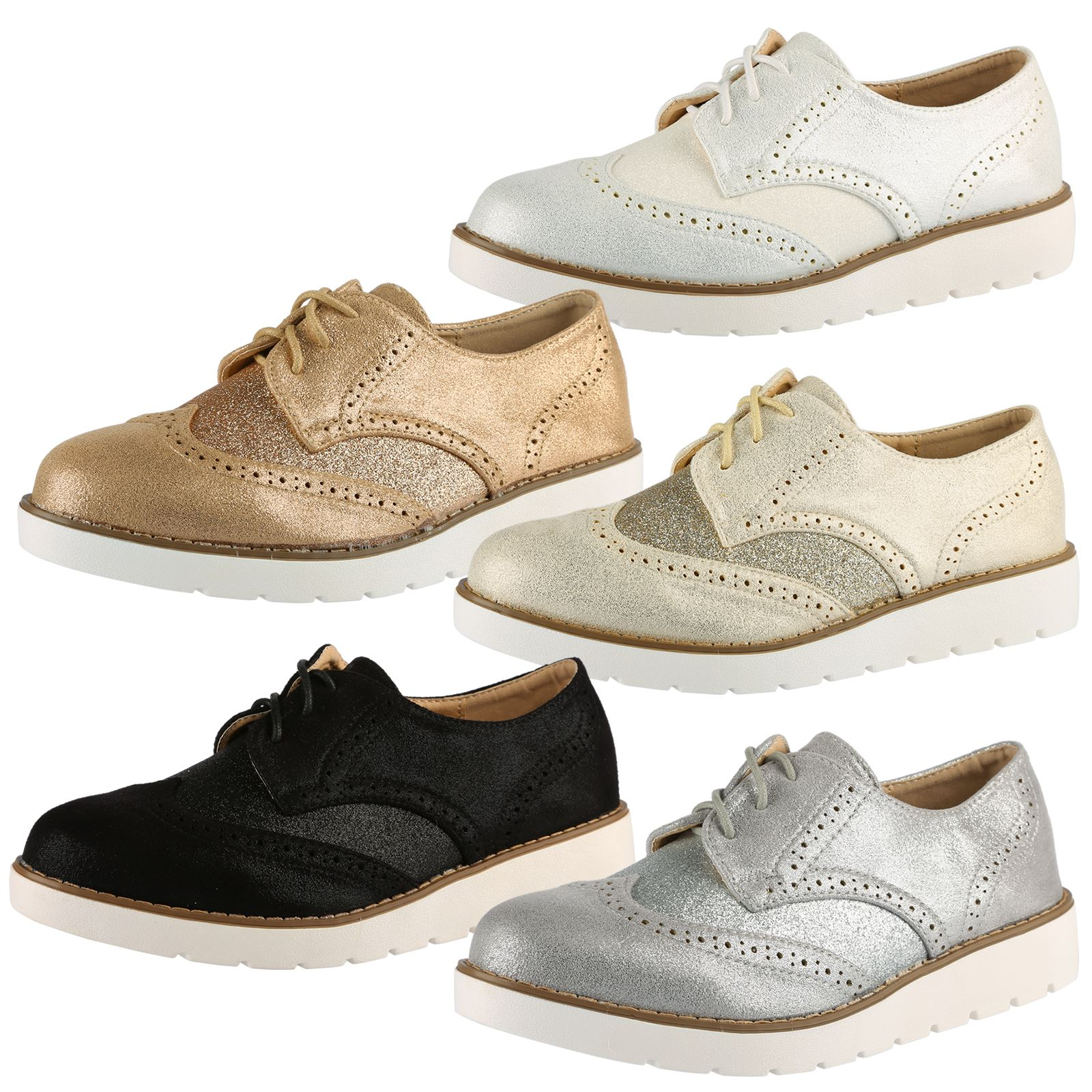 Women's Oxford & Lace-Up Shoes Menswear-style shoes are no less chic! Our women's oxfords, shoes and lace-up shoes include two-tones, metallics, wingtips, pumps and more for you to master the preppy style step by step.