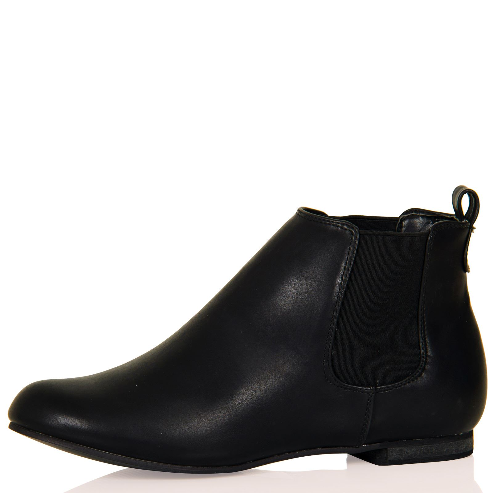 womens boots chelsea flats low heel ankle work