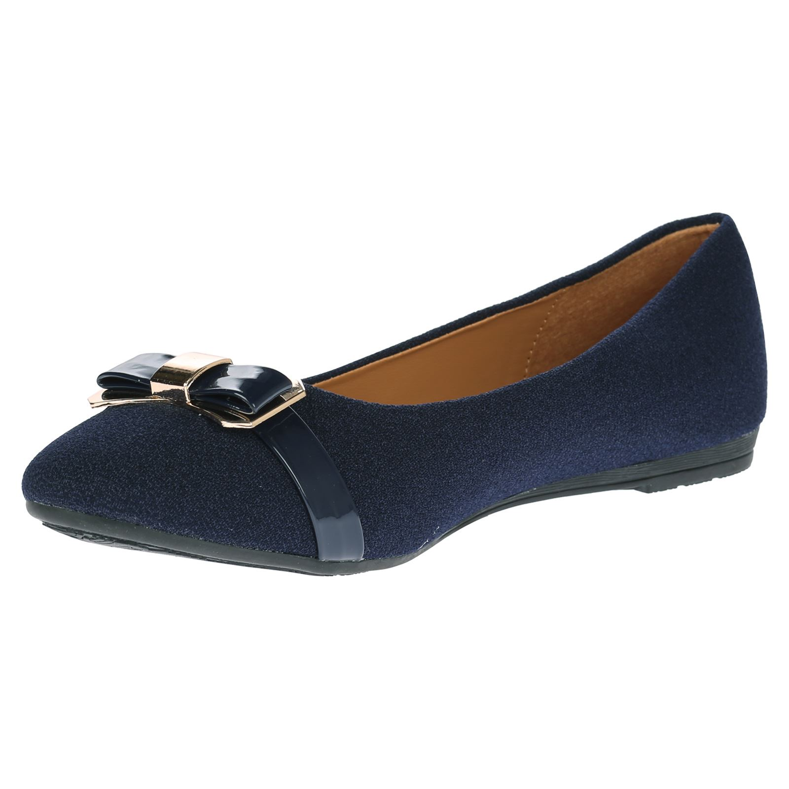 womens shoes pumps work office ballet flats bow low