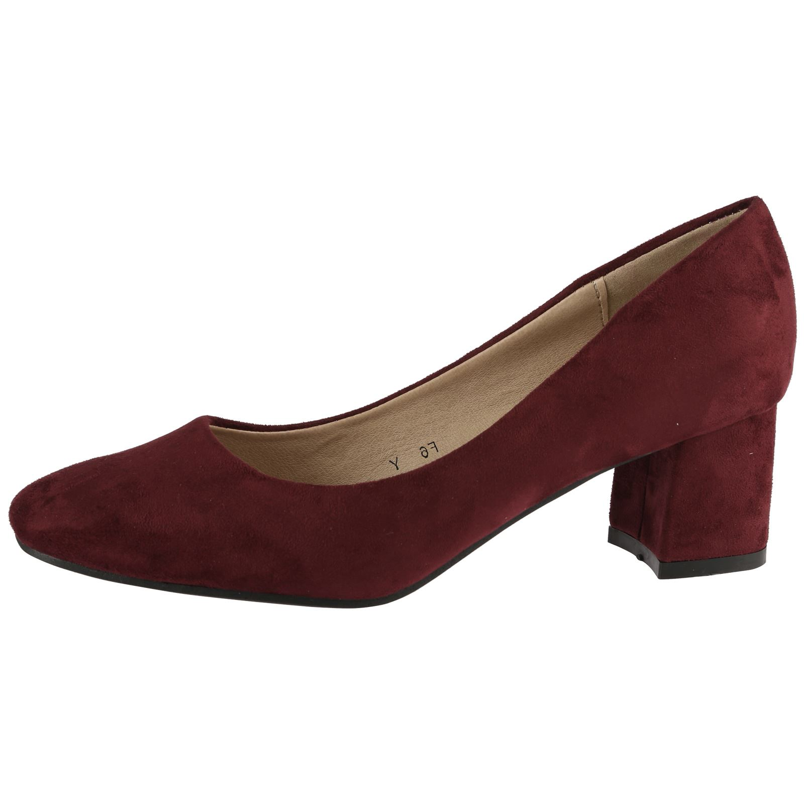 womens court shoes work office smart casual block