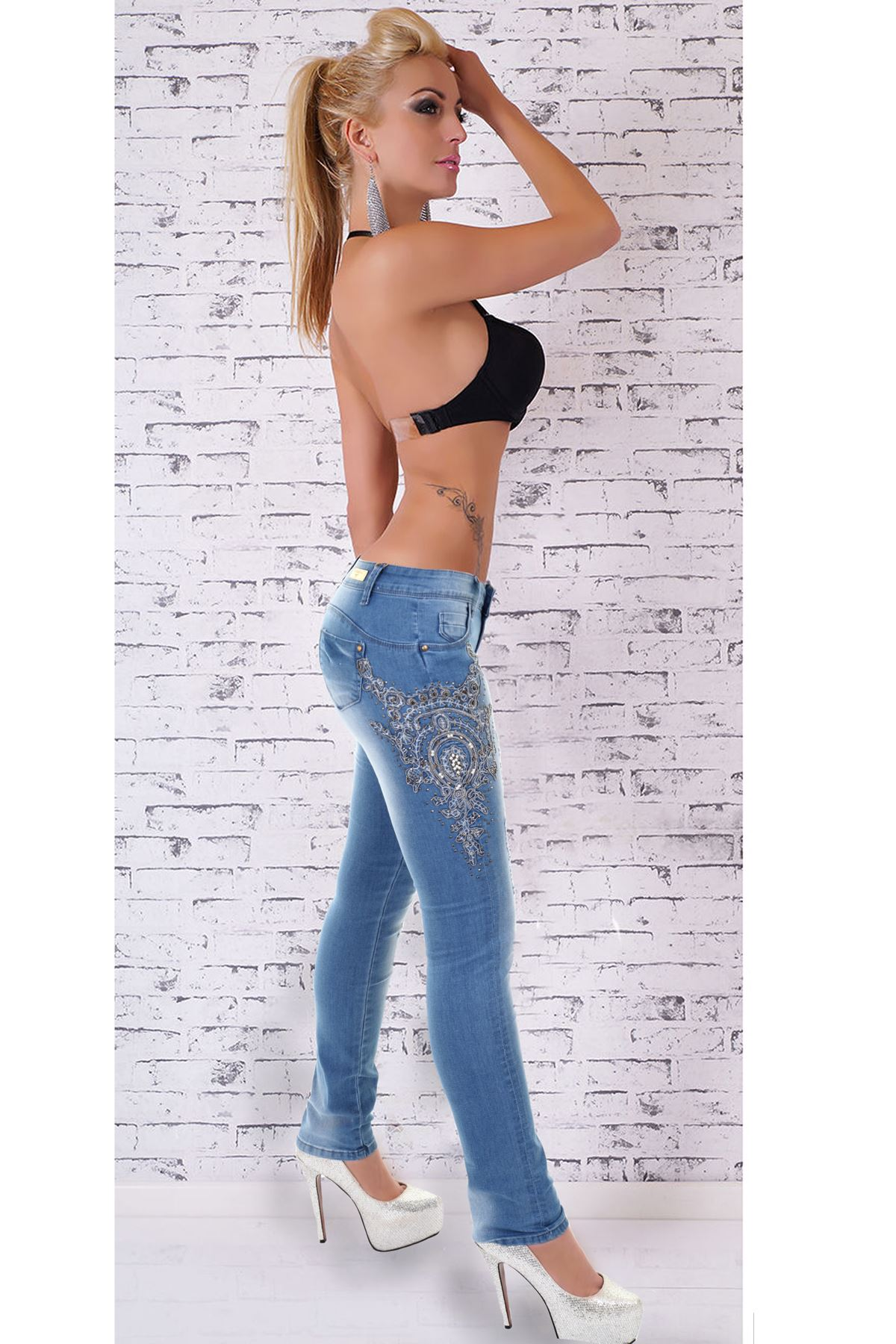 SKIN TIGHT LEGGING. SLIM, SKINNY. REALLY GREAT CLASSIC JEANS. NICE JEANS! These are our standard rates. Rates will be higher for large sizes or extra heavy jeans.