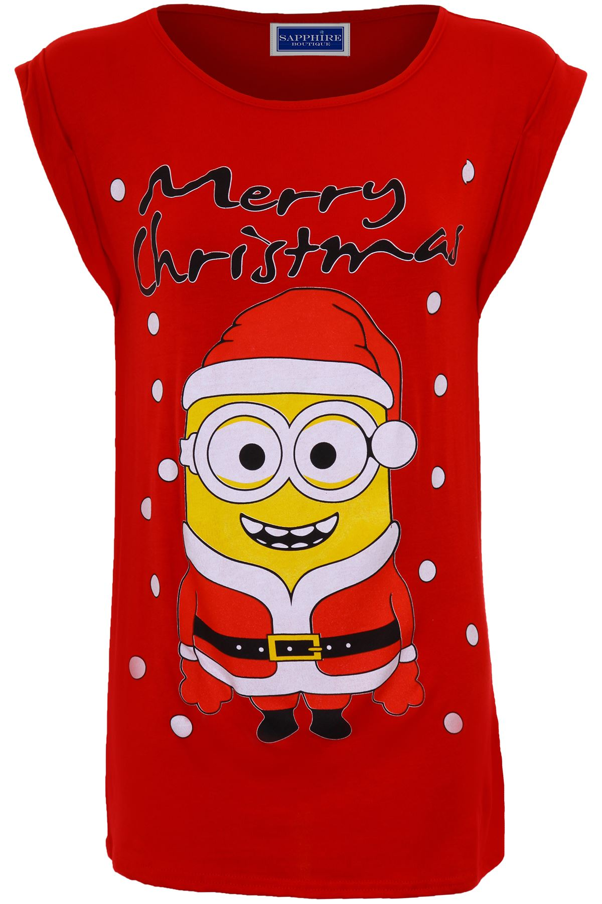 Women's XMAS Merry Christmas Frozen Olaf Minion Festive Ladies T ...