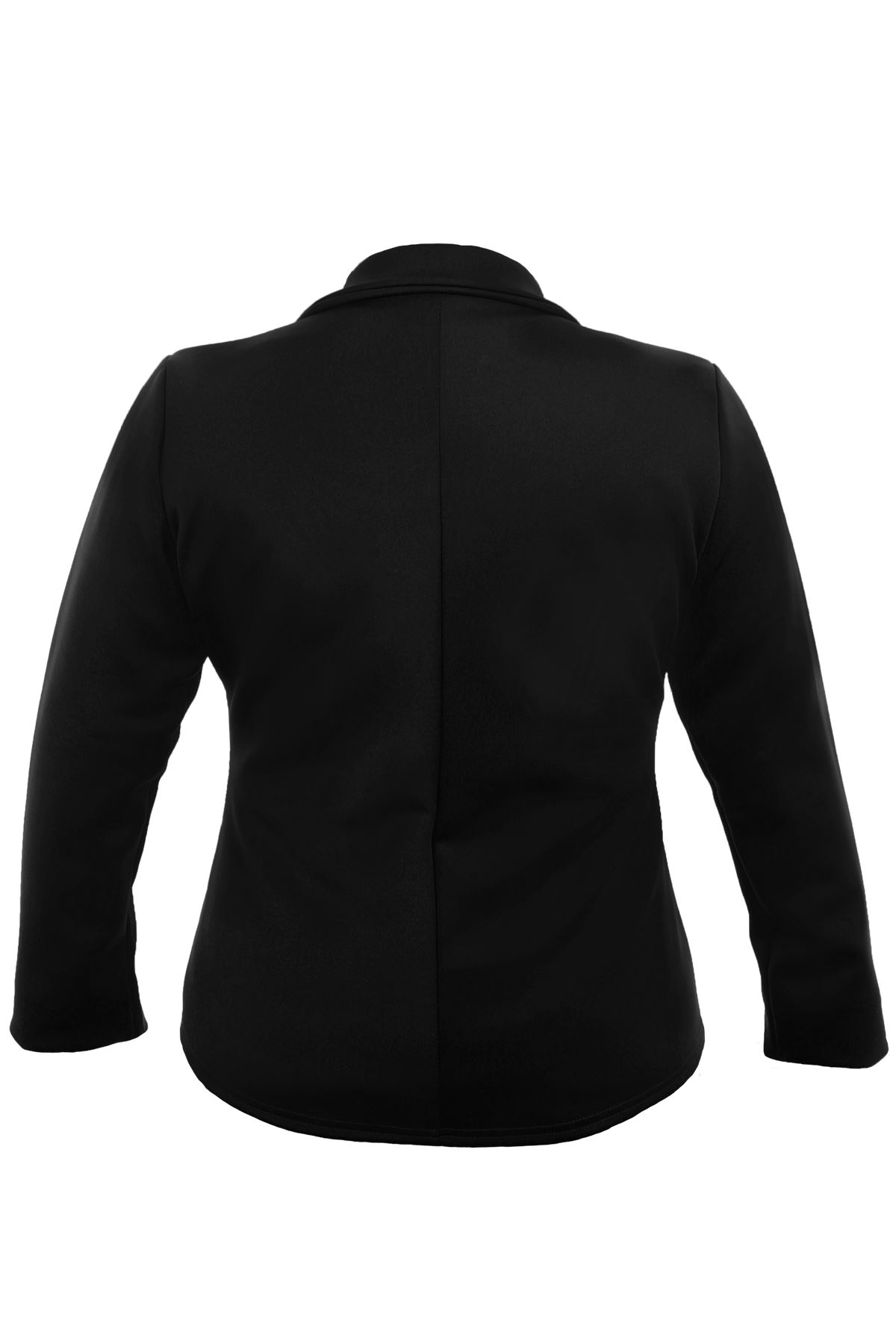 Ladies Plus Size Collared V Neck Zip Front Women's Smart ...