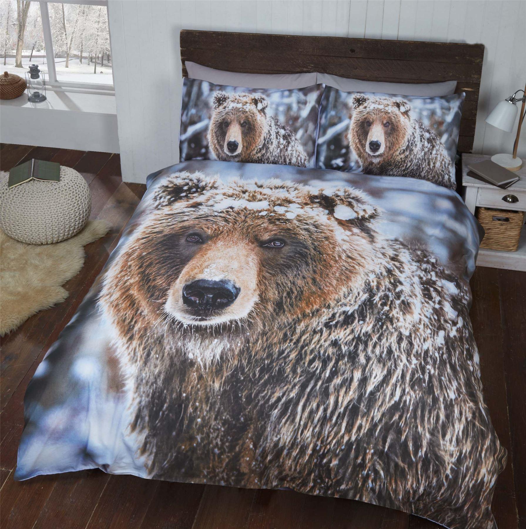 Animal Quilt Duvet Cover Amp Pillowcase Bedding Bed Set
