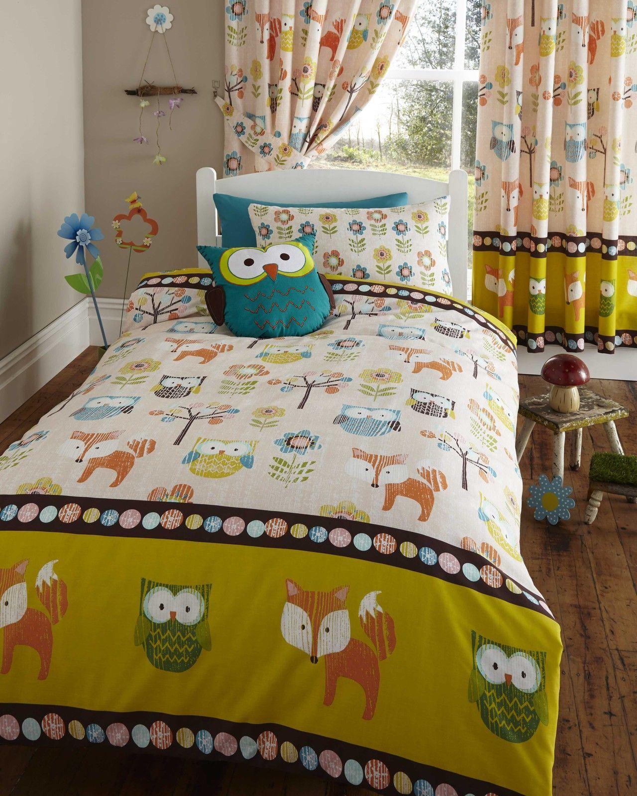 Girls Childrens Quilt Duvet Cover Amp Pillowcase Bedding