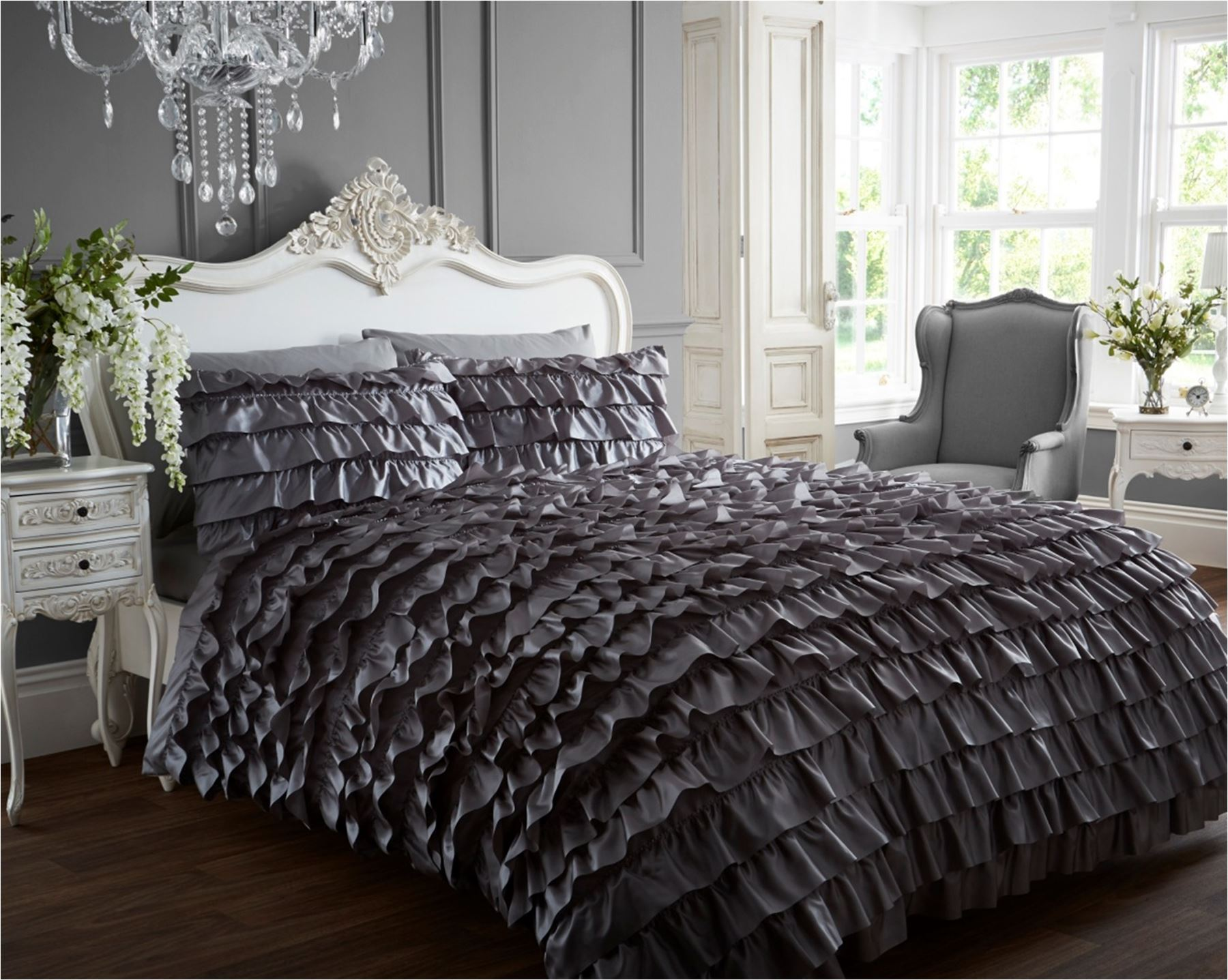 flamenco dress can can quilt duvet cover p case bedding. Black Bedroom Furniture Sets. Home Design Ideas