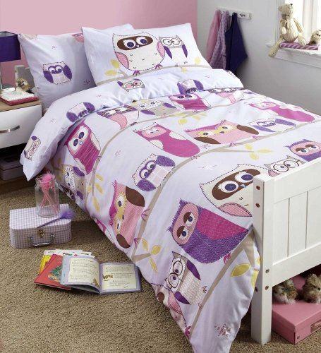 Girls Childrens Quilt Duvet Cover & Pillowcase Bedding Sets Or ...