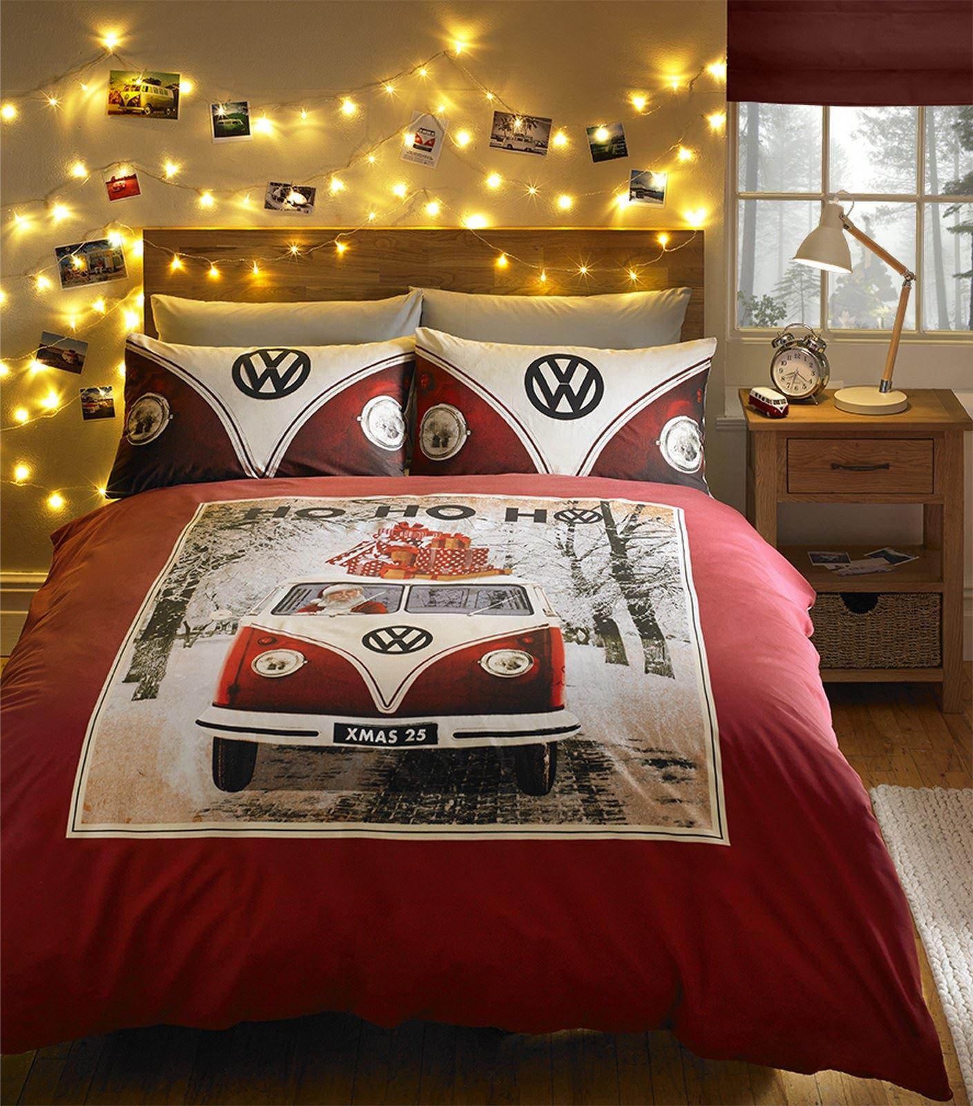campervan col opt res vw voitures couette housse de. Black Bedroom Furniture Sets. Home Design Ideas