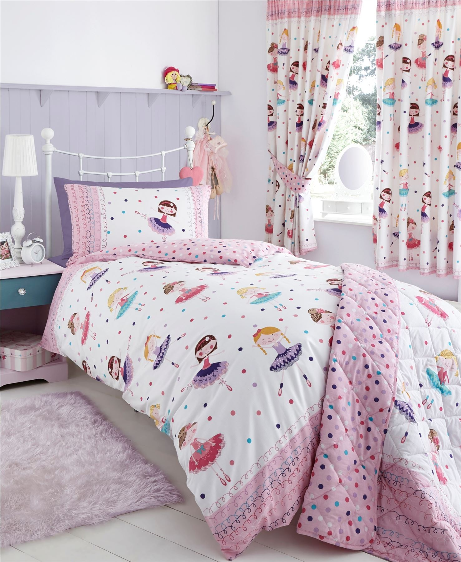 ... Quilt Duvet Cover & Pillowcase Bedding Sets Or Matching Curtains