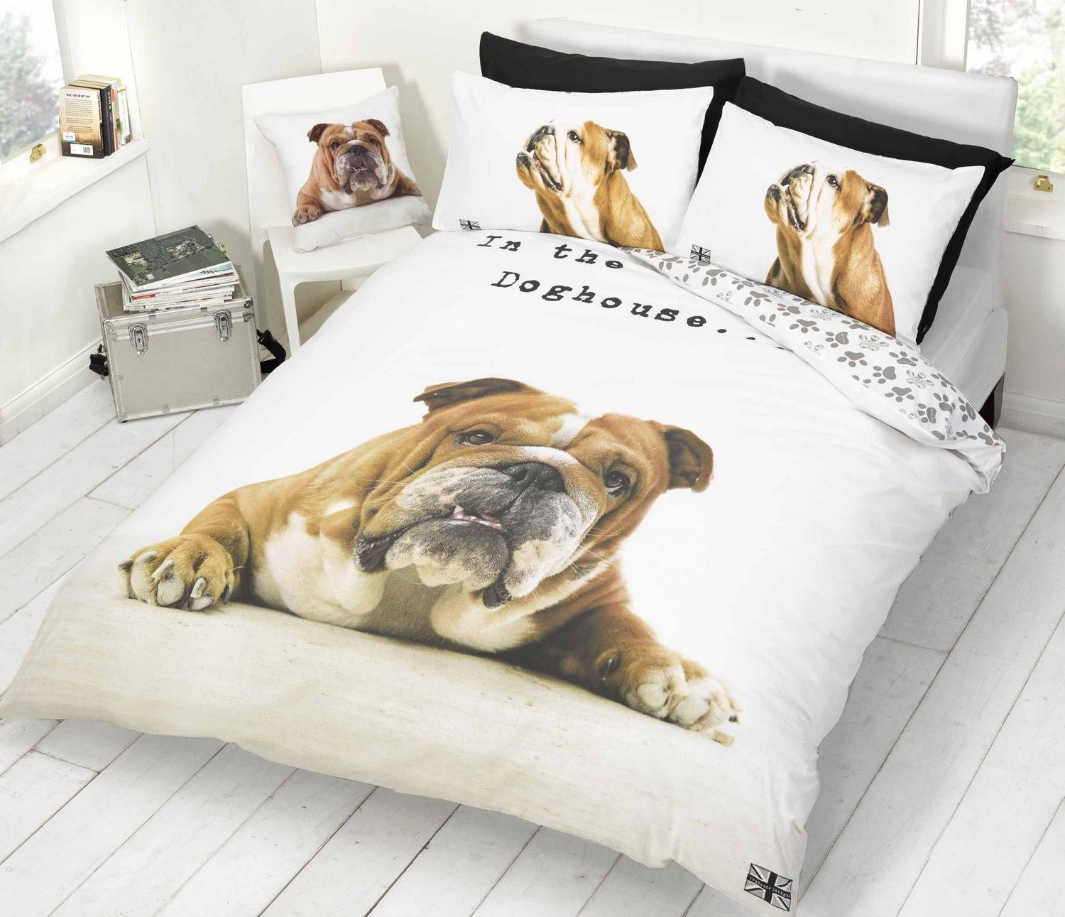 Dogs Single Bedding
